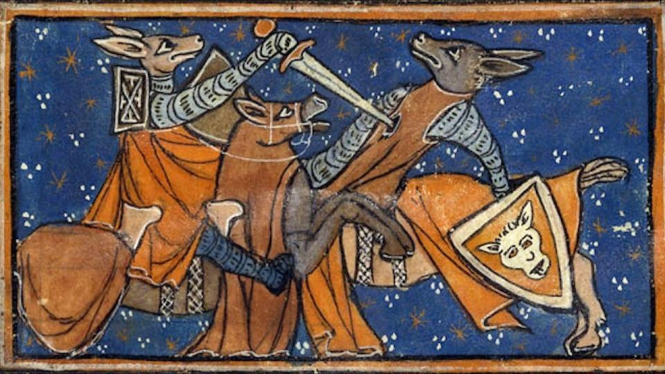 Foxes in the Middle Ages