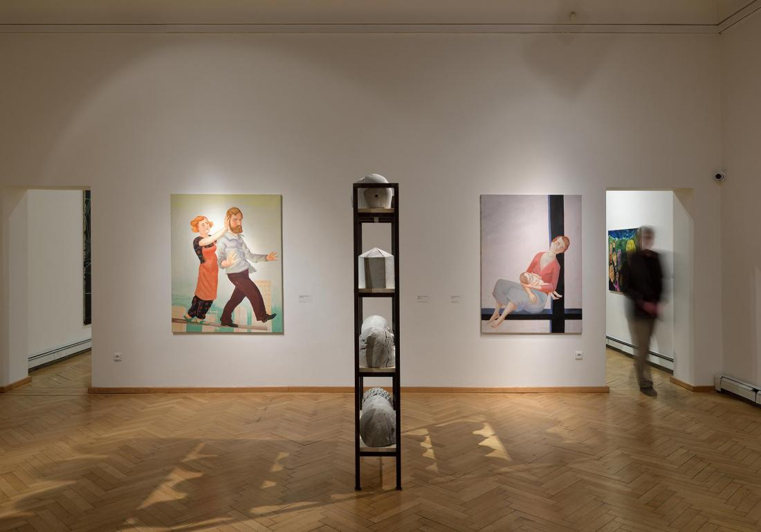 TEN / contemporary German art from the collection of the Adam Gallery, photo: Roman Polášek