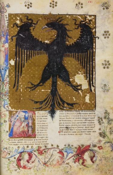 The eagle as a medieval symbol
