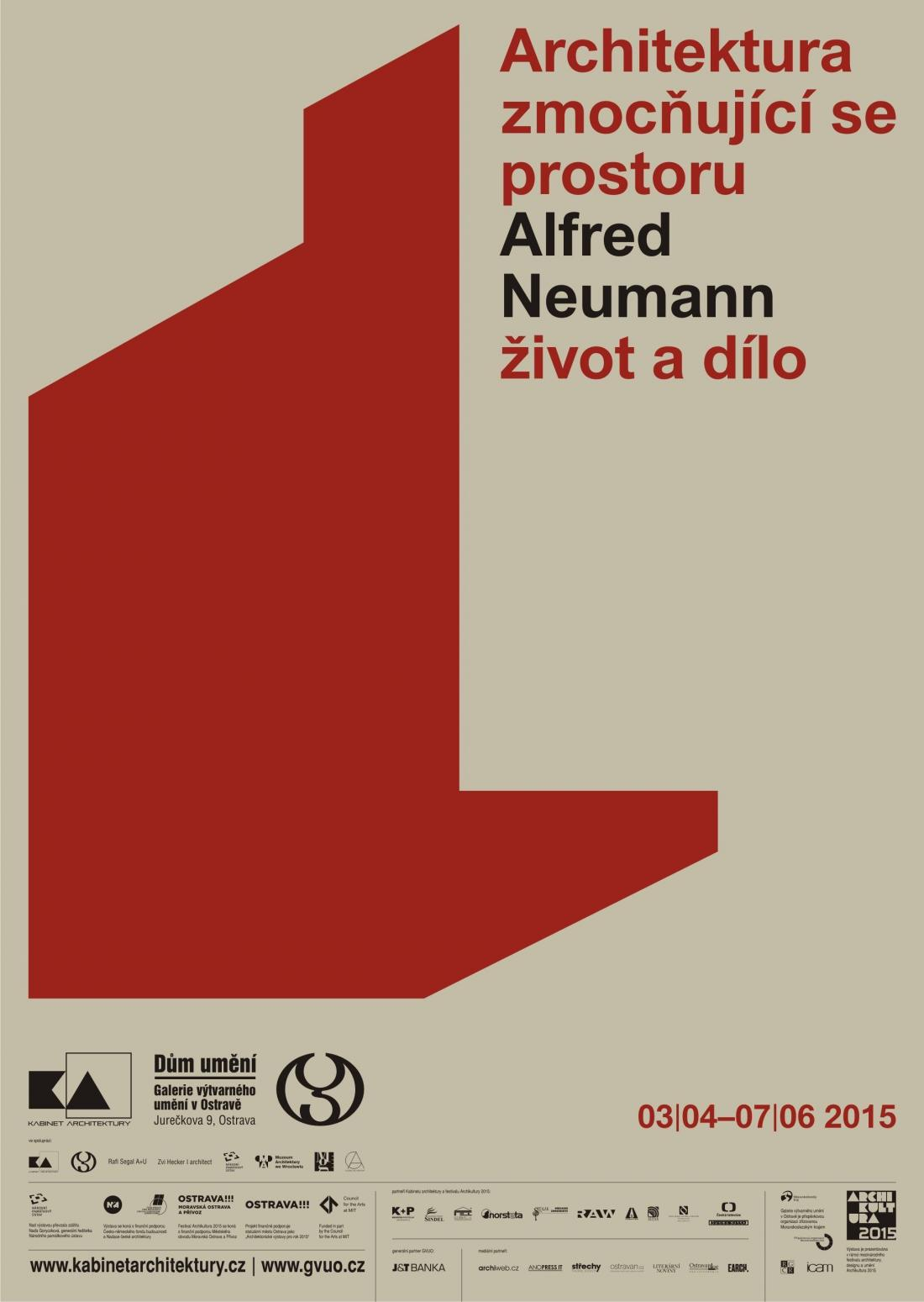 Architecture taking over space / Alfred Neumann – Life and work