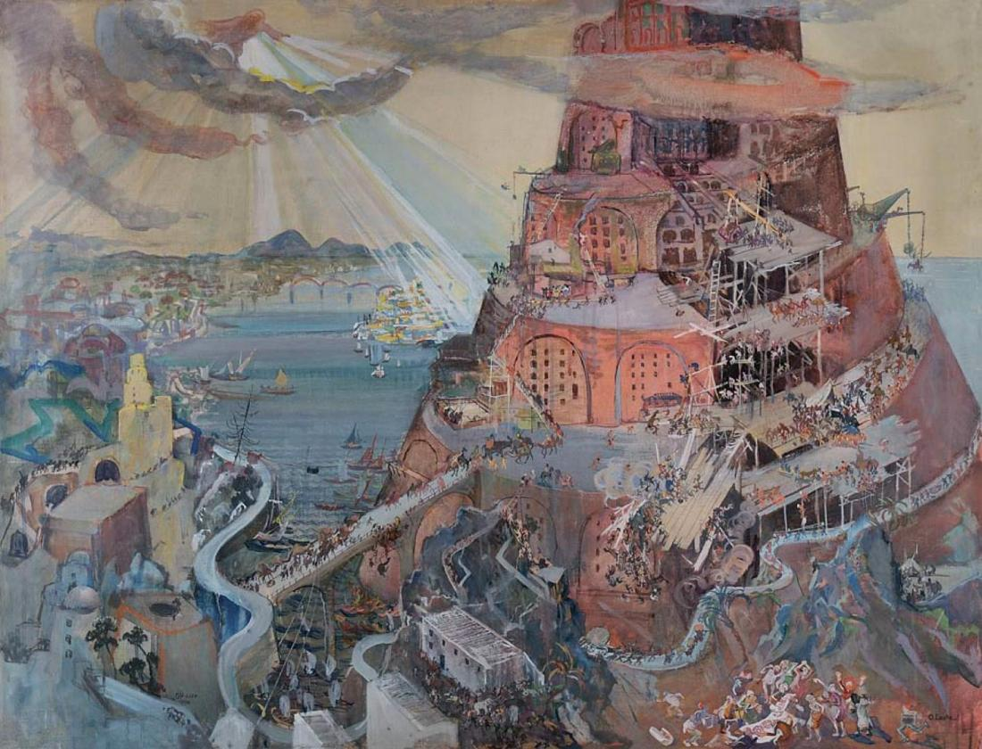 Oscar Laske / Building the Tower of Babel (Opus XXXII)